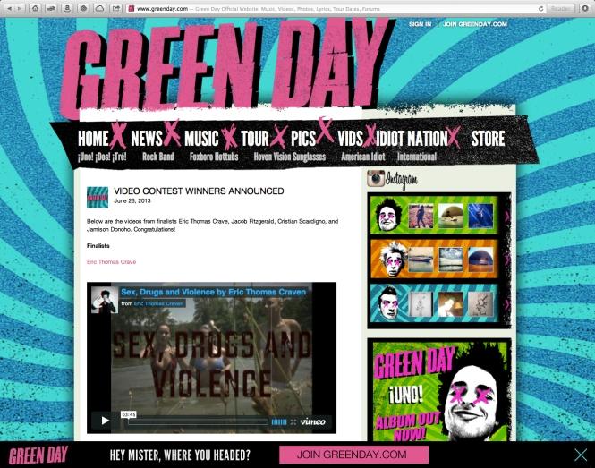 greendaycom